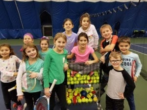 Tennis Camp Photo